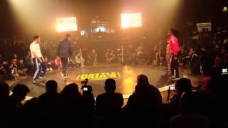 Battle de Vaulx Bgirl Terra and Bgirl Eddie Soul Mavericks Vs Immigrandz Top 16