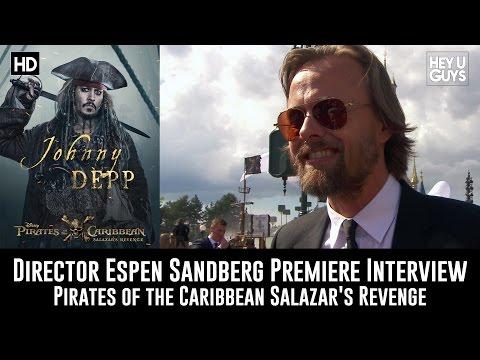 Director Espen Sandberg Premiere Interview - Pirates of the Caribbean: Salazar's Revenge