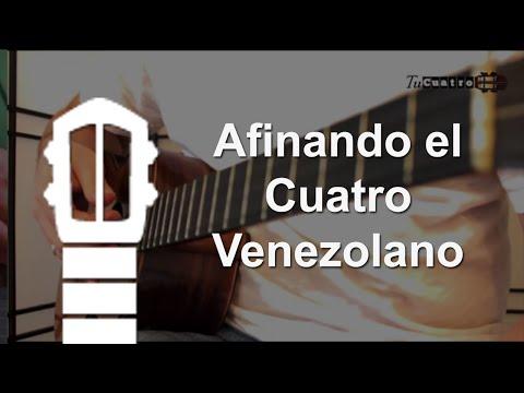 Clases de cuatro venezolano - Como afinar un cuatro venezolano
