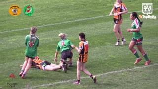 2016 ICRL Womens In Defense League Grand Final Highlights - He…