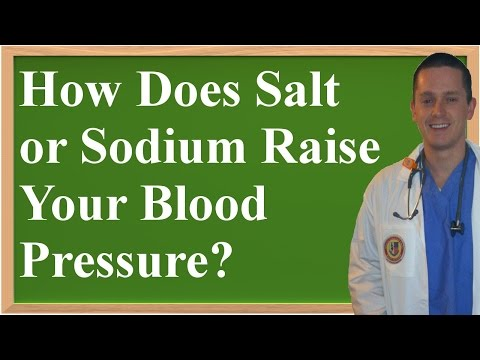How Does Salt (Sodium) Raise Your Blood Pressure? (Explanation Made Simple to Understand!)