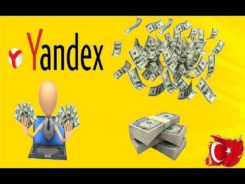 Yandex İle Günde 50$ Kazanmaya Ne Dersiniz !!! ( İşte Kanıt) 💰💲
