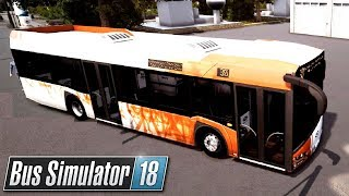 Solaris Urbino 12 [MOD]   Bus Simulator 18 (#21)
