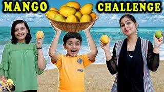 MANGO CHALLENGE | Summer Masti | #funny comedy | Aayu and Pihu Show