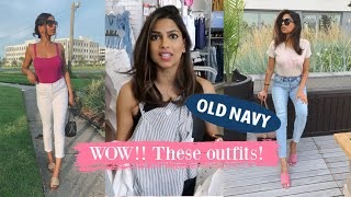 I ONLY Wore OLD NAVY for a WEEK!