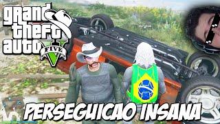 GTA 5 Online (PS4) - O Fugitivo: Dessa vez com as regras, será que fugi ?