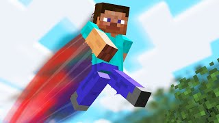 Minecraft but every jump is a random effect...