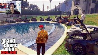میتینگ بزرگ و لاکچری بچه پولدارای GTA آنلاین با کیودی پای !