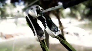 Jugando en los árboles - Camping Giralda - Isla Cristina