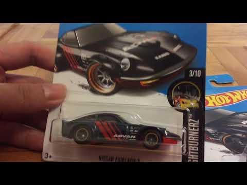 Hot Wheels Super Treasure Hunt Nissan Fairlady Z (2017 Nightburnerz)