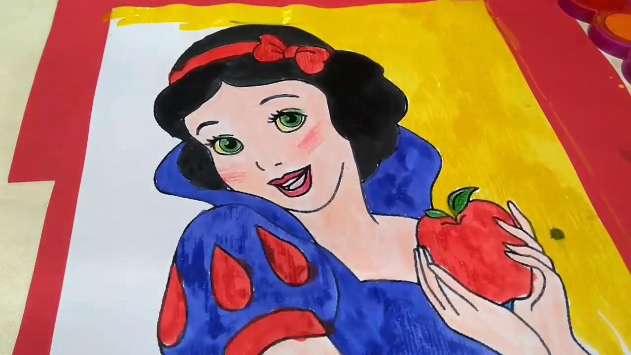 Anne Cocuk Etkinligi Pamuk Prenses Boyama Cotton Princess Painting