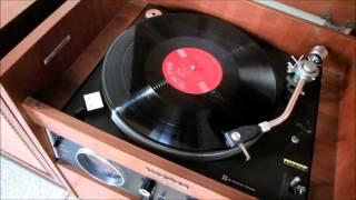 ビクターの古いステレオ 試聴用レコードをかけてみる 2011.10