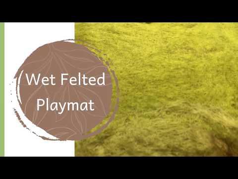 Wet Felted Playmat Tutorial thumbnail