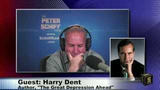 Harry Dent vs. Peter Schiff : Inflation/Deflation Debate