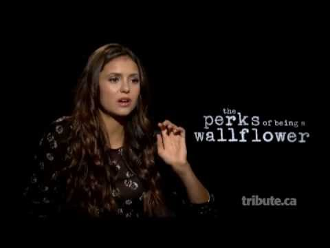 Nina Dobrev - The Perks of Being a Wallflower Interview with Tribute at TIFF 2012
