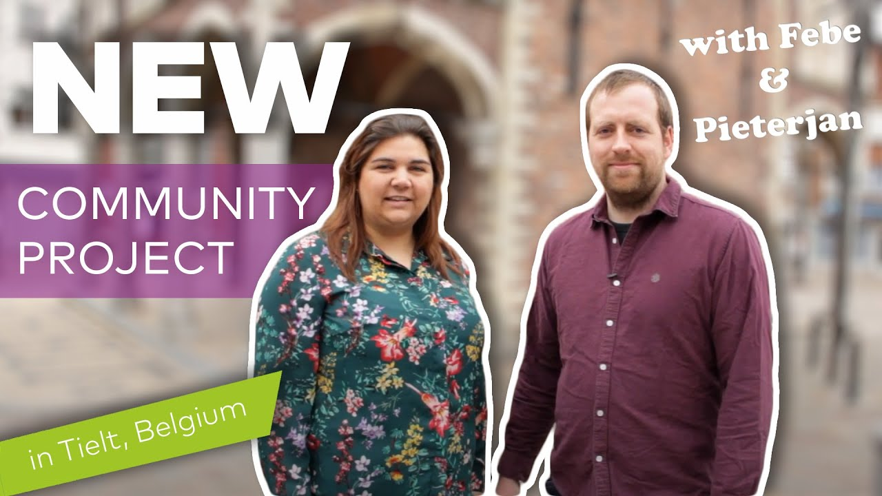 Why did Peter-Jan and Febe move to Tielt?