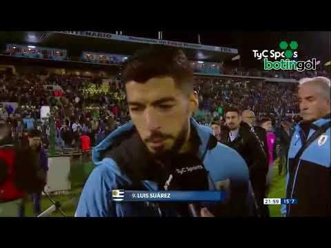 La fuerte indirecta de Suárez contra la gente de Uruguay