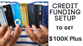 How To Setup Your Credit Profile To Receive $100K+ Funding