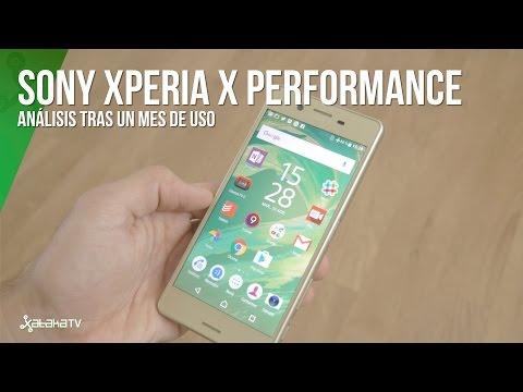 Sony Xperia X Performance tras un mes de uso
