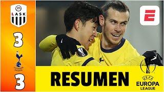 Lask 3-3 Tottenham. GOLES de Gareth Bale, Heung-Min Son y Dele Alli por los ingleses | Europa League