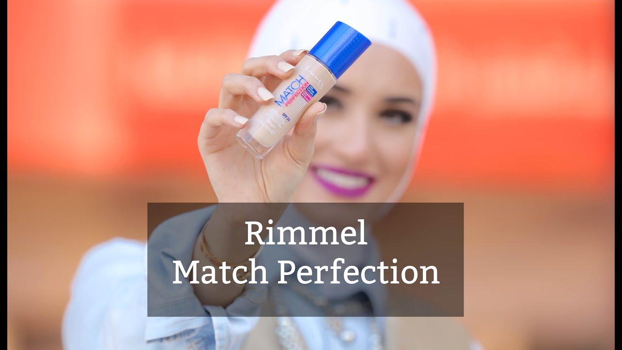 a03a1e895 Rimmel Match Perfection foundation .. كريم اساس ريميل ماتش بيرفكشن ...