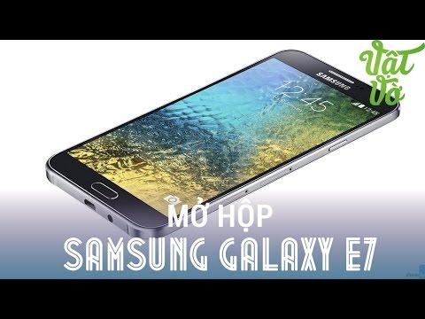 [Review dạo] Đánh giá nhanh & mở hộp Samsung Galaxy E7 - phablet cấu hình tốt, màn hình đẹp