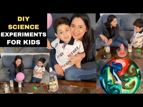 Magic Milk Experiment for Toddlers | Science Experiments for kids 5 minute crafts #theupbeatfamily