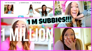 HITTING 1 MILLION SUBSCRIBERS!!!! Vlogmas Day 9!! Thumbnail