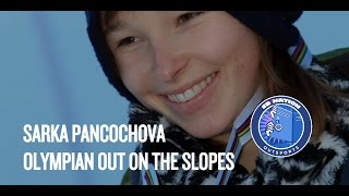 Olympic snowboarder Sarka Pancochova is 'stoked' to come out