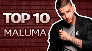TOP 10 Canciones de Maluma Con Más Visitas (Enero 2017)