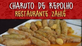 Charuto de Repolho do Restaurante Zahlé - Vem Cozinhar #17