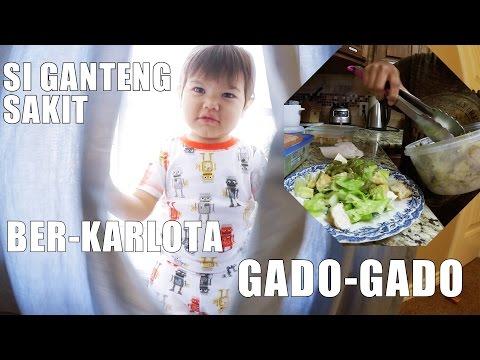 MASAK GADO-GADO ABAL2 | CHITCHAT TENTANG MILITER | KOREAN BOY SAKIT VLOG