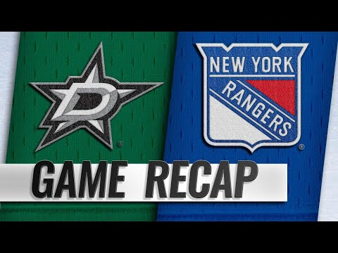 Chytil, Vesey pace Rangers to 2-1 win against Stars