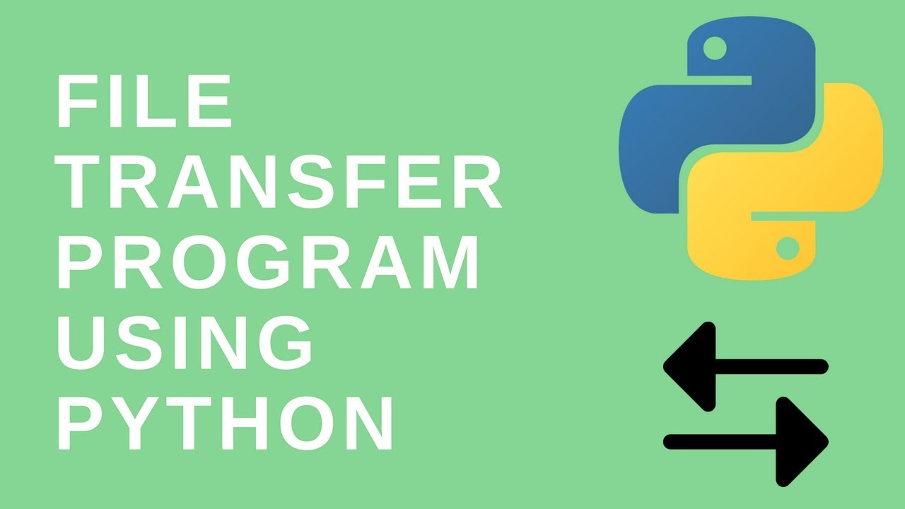 How to create a simple file transfer program using python