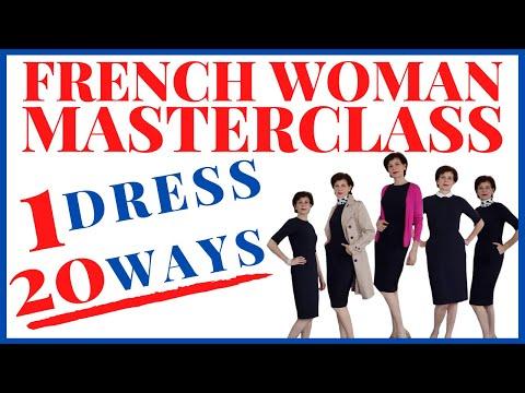 🇫🇷-capsule-wardrobe⎢style-1-dress-20-ways⎢french-woman-masterclass