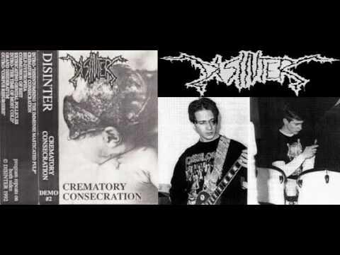 DISINTER (columbiana,ohio) ´´crematory consecration´´ demo 1992