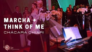 Marcha Nupcial + Think Of Me | Cantora | Chácara Chiari | Música Casamento BH | Remix