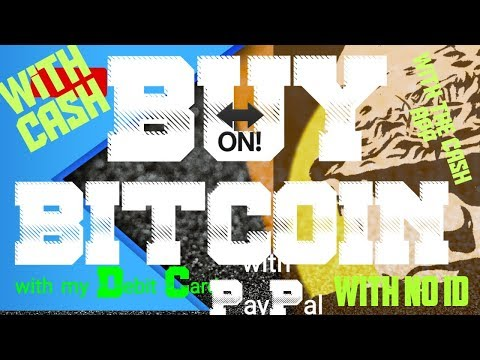 Buy Bitcoin BTC With Cash, Credit, Paypal, Bank Account. Buy Bitcoin BTC Without ID In 2019 Buy BTC