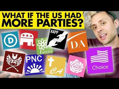What if the USA had a 10-party system?