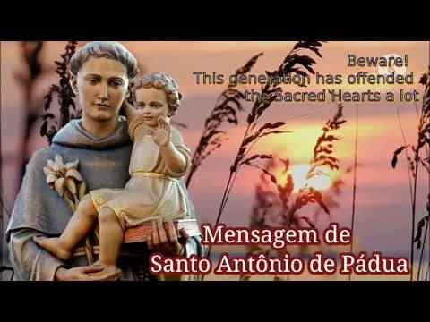 Message of St. Anthony of Padua, left to the seer brother Eduardo Ferreira on November 24, 2020