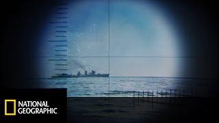Starcie japońskiego niszczyciela z amerykańską łodzią podwodną komandora Mortona!  [Piekło pod wodą]