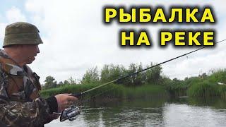 Рыбалка на реке Как отработают любимые силиконовые приманки на щуку и окуня на течении