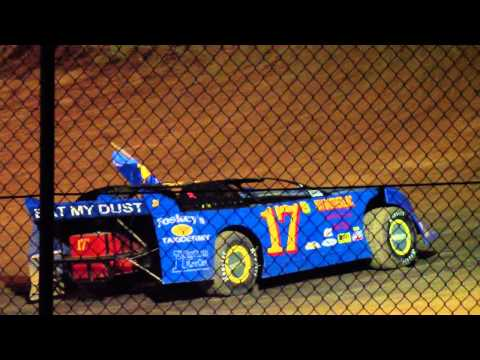 Cameron Hall's Tribute Lap at Cochran Speedway 6/30/2012-1/1