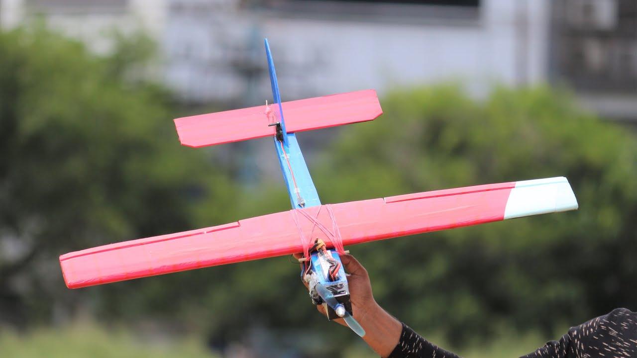 How To Make a Speed Airplane - Plane - Aeroplan - RC Plane