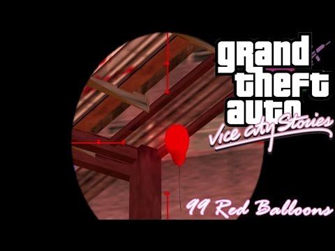 GTA: Vice City Stories (PSP Emu) 99 Red Balloons