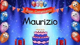 Tanti auguri di buon compleanno Maurizio!