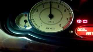 Rover 75 1.8 Нестабильная работа ДВС.