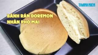 Cách làm bánh rán Đôrêmon nhân phô mai tan chảy siêu ngon nhu the nao