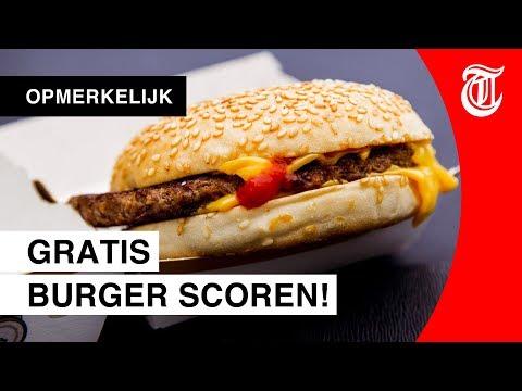 Man ontdekt slim trucje bij McDonald's (en eet gratis)