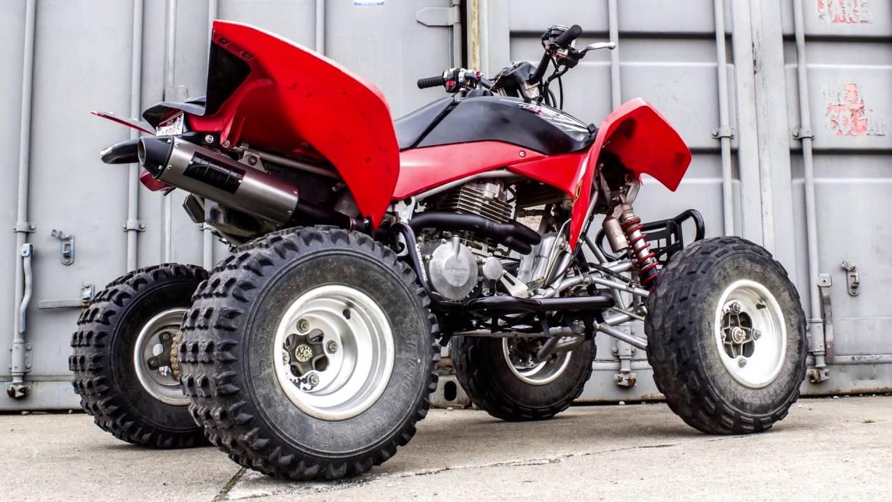 honda trx400 ex hmf exhaust systems